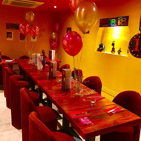 Sol Tapas: Our private room free to hire