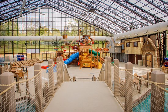 Holiday Inn Club Vacations Fox River Resort: Indoor pool and waterpark