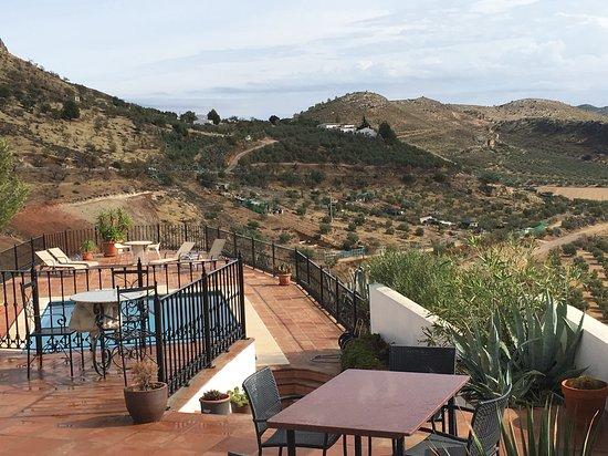 Teba, Spanien: view