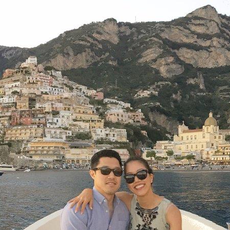 Il San Pietro di Positano: Water taxi from hotel to town!