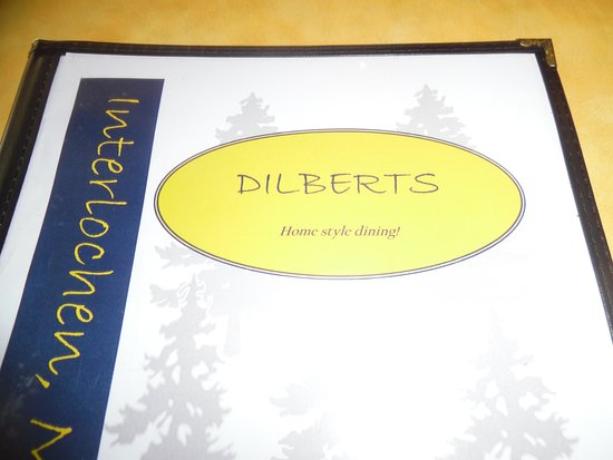 Interlochen, MI: Dilberts Menu