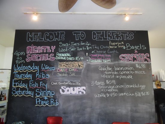 Interlochen, MI: Daily Specials
