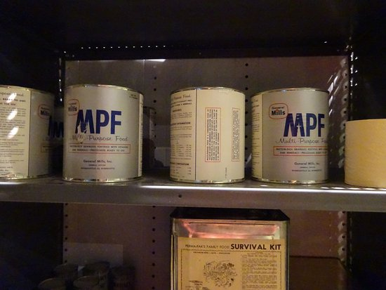 the national museum of nuclear science history bomb shelter food