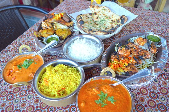 Family Feast Indian Food Picture Of Gourmet India San Diego