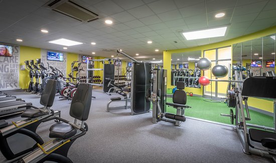 State of the art gym picture of springhill court conference