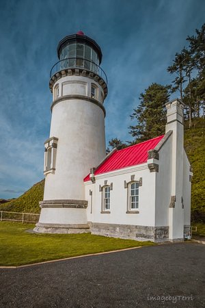 ‪‪Heceta Head Lighthouse Bed and Breakfast‬: Haceta Head Lighthouse‬