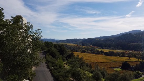 Napa Valley, Kalifornien: Top of Sterling Vineyards via Aerial Tram