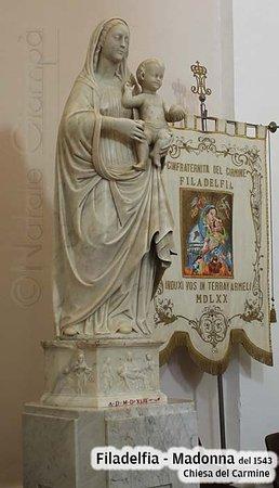 Filadelfia, Italia: Statua della Madonna proveniente dal Convento di Santa Maria della Croce di Francavilla Angitola