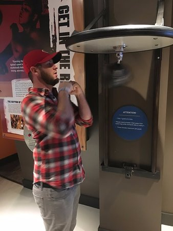 Muhammad Ali Center: Interactive exhibit lets you text your skills!