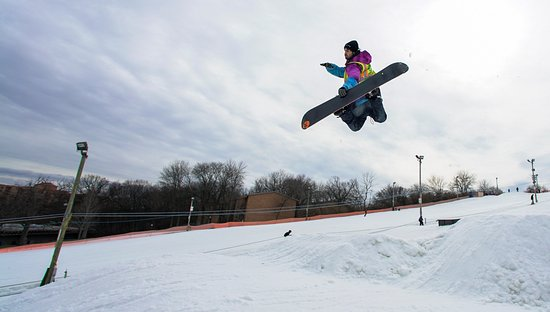 Lisle, IL: Check out our terrain park and test your skills!