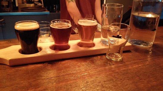 Sutton, Canada: Un échantillon de quelques unes de leurs bières