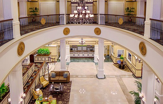 Jackson, MS: The King Edward Hotel Lobby is as beautiful as its story!