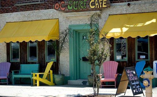 OC Surf Cafe storefront