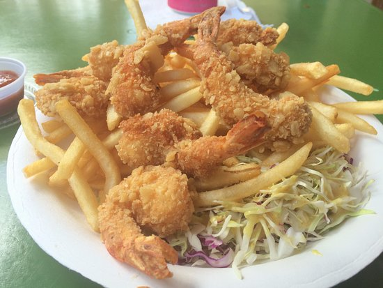 Savage Shrimp: Shrimp 'n' Chips--Yum!