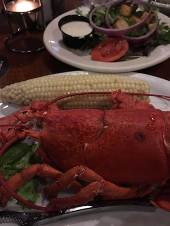 Rams Head Roadhouse: Best lobster dinner for a great price!