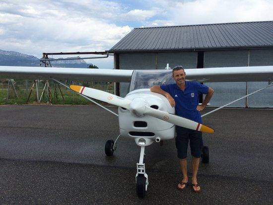 Metz-Tessy, France : Un pilote au top !