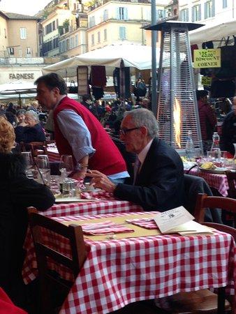 ristorante cucina romana at campo de' fiori - picture of campo de ... - Ristoranti Cucina Romana