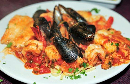 Nonno S Italian Restaurant Seafood Special
