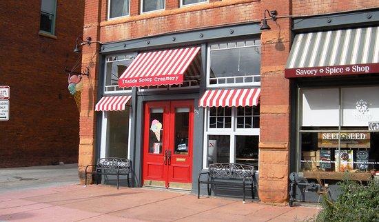 Photo of Restaurant Inside Scoop Creamery at 1535 Platte Street., Denver, CO 80202, United States