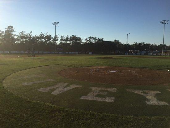 Oak Bluffs, MA: Baseball on the vineyard