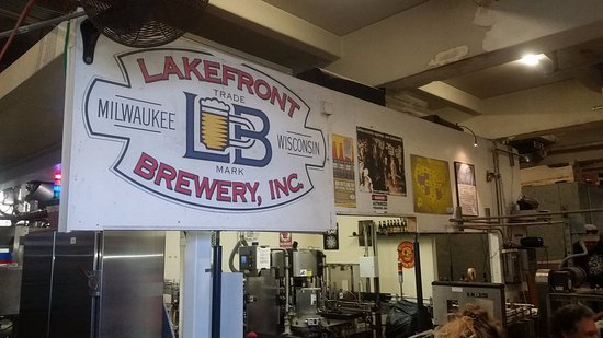 Bernie Brewers Chalet Mug Picture Of Lakefront Brewery