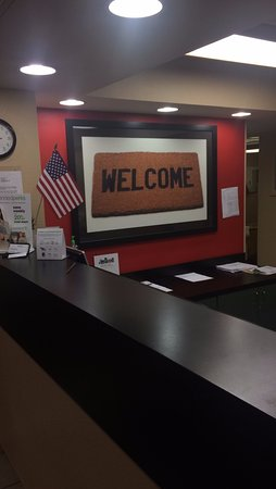 Extended Stay America - Hanover - Parsippany: Front Desk