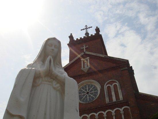 Sasebo, Japan: 黒島天主堂 Kuroshima Cathedral
