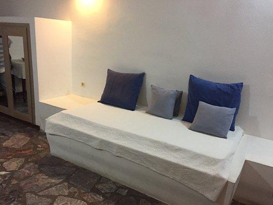 Santorini Reflexions Sea: Zusatzbett, bzw. Couch.