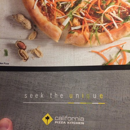 California Pizza Kitchen Certificate Online