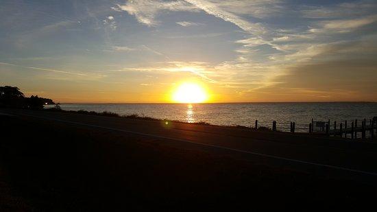 Eastpoint, FL: Sunrise over the Gulf