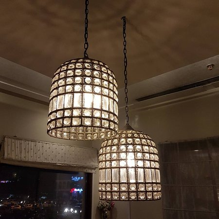 Diwan Fine Dining Indian Restaurant Bar The Beautiful Hanging Lights In Private