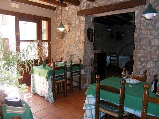 Fonda Cal Blasi : Restaurante Sala comedor