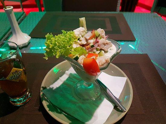 Bounty Restaurant & Bar: The Fresh Fijian Dish KOKODA made with local Walu fish entree sized Lovin it👍👍