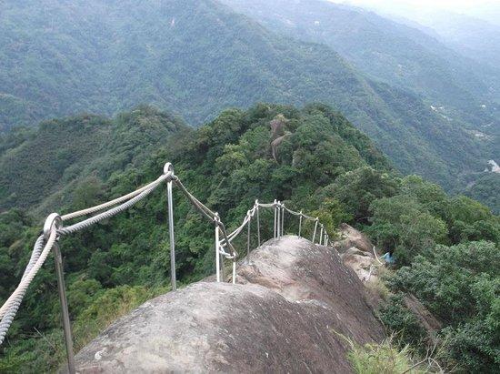San Xia Wu Liao Jian Mountain