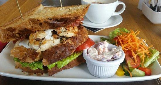 Stalham, UK: Chicken & Bacon Club Sandwich