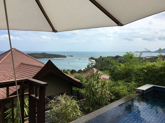 Nora Buri Resort & Spa: my own pool with a view