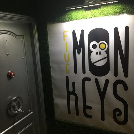 ‪Five Mon-keys Escape Game‬