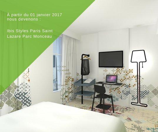 Hotel Ibis Styles Paris Saint Lazare: Ouverture