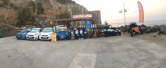 Nisiros, Yunanistan: Motor bike 50-200cc  Endouro off road 125-200cc Atv 150-325cc Cars small medium large and mini v