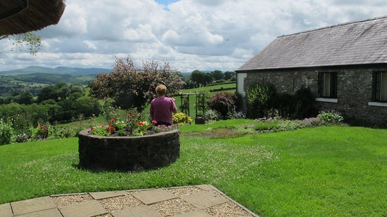Llandovery, UK: View from the Garden.