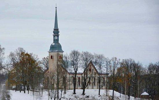 Otepaa, Estonie : Otepää Maarja luteri kirik