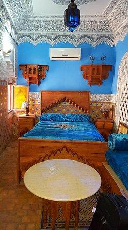 Riad Hiba Meknes: chambre magnifique