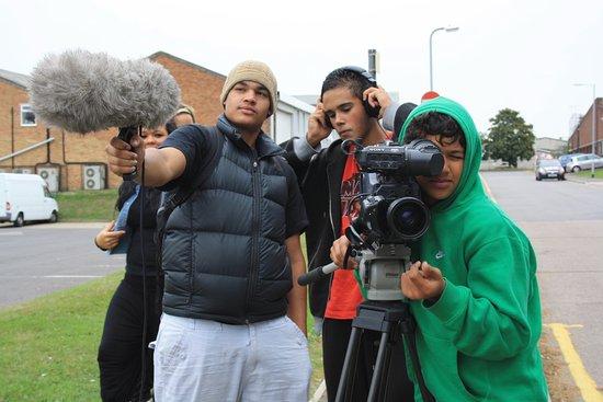 Signals Media Arts Centre: On set