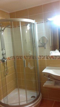 Hotel BinderBubi: cuarto de baño