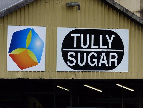 Tully, Australia: Sign