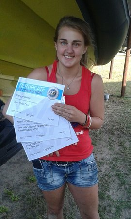 Sodwana, Sydafrika: Quality Internships! Katelyn growing by the day!!