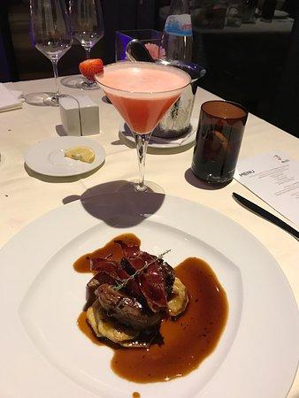 Cascade Wellness & Lifestyle Resort: Portuguese set menu in hotel restaurant. Resort view apartment. Heated pool.