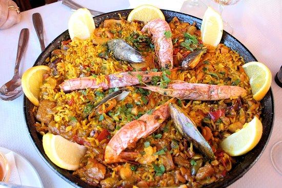 La Pared, Spain: La paella