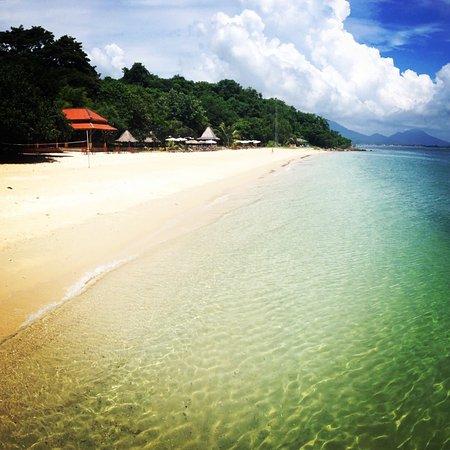 Mooban Talay Resort : Пляж