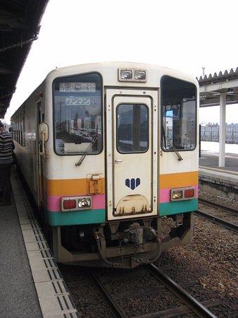 Nagai, Nhật Bản: 山形鉄道の車両です。
